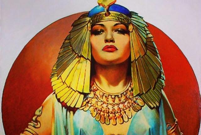 كليوباترا مصر فرعون الاسكندرية أثار نساء إنثى
