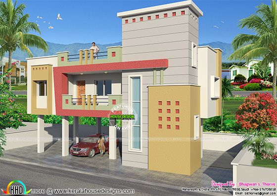 885 sq ft india house design kerala home design and for First floor house plans in india