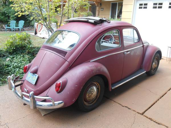 1963 VW Ragtop Bug