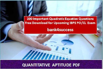 200 Important Quadratic Equation Questions PDF Free Download