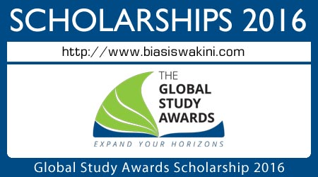 Global Study Awards Scholarship 2016