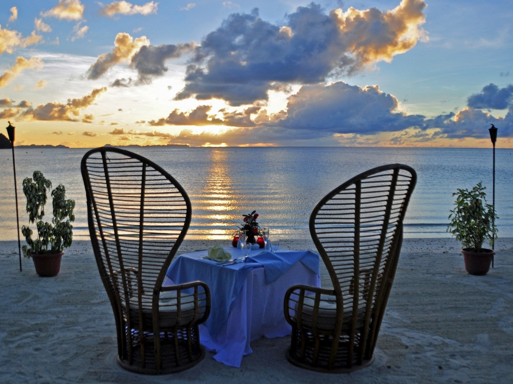 romantic dinner wallpaper for - photo #3