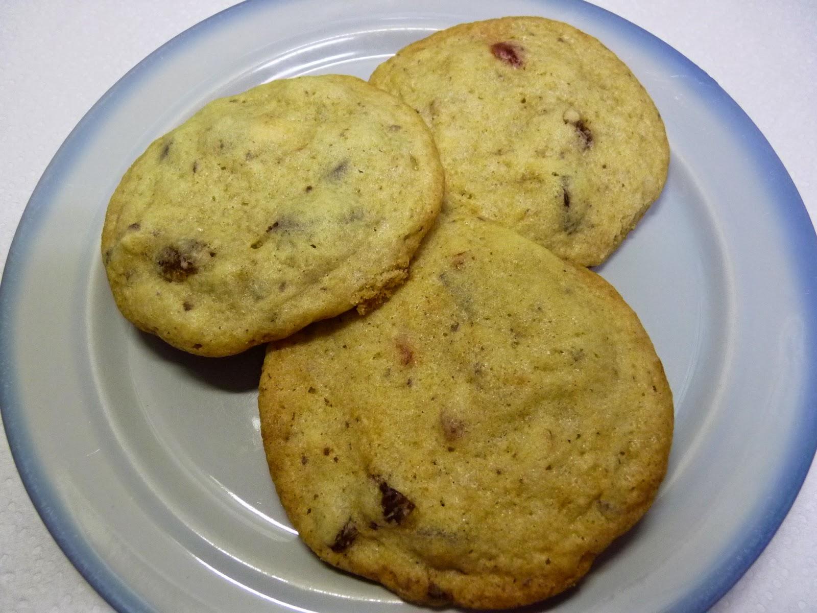 proste i pyszne ciasteczka z kawałkami czekolady