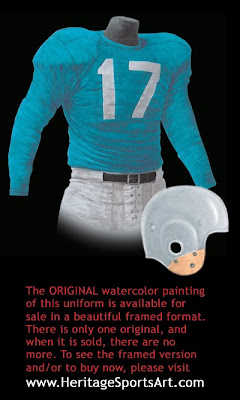 Detroit Lions 1952 uniform