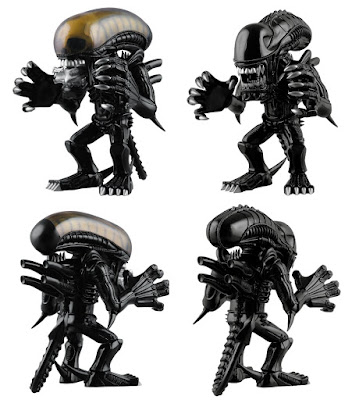 Alien Vinyl Collectible Dolls Stylized Xenomorph Vinyl Figures by Medicom - Alien Xenomorph & Aliens Warrior Xenomorph
