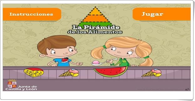"""""""La Pirámide de los Alimentos"""" (Juego de Ciencias Naturales de Primaria)"""