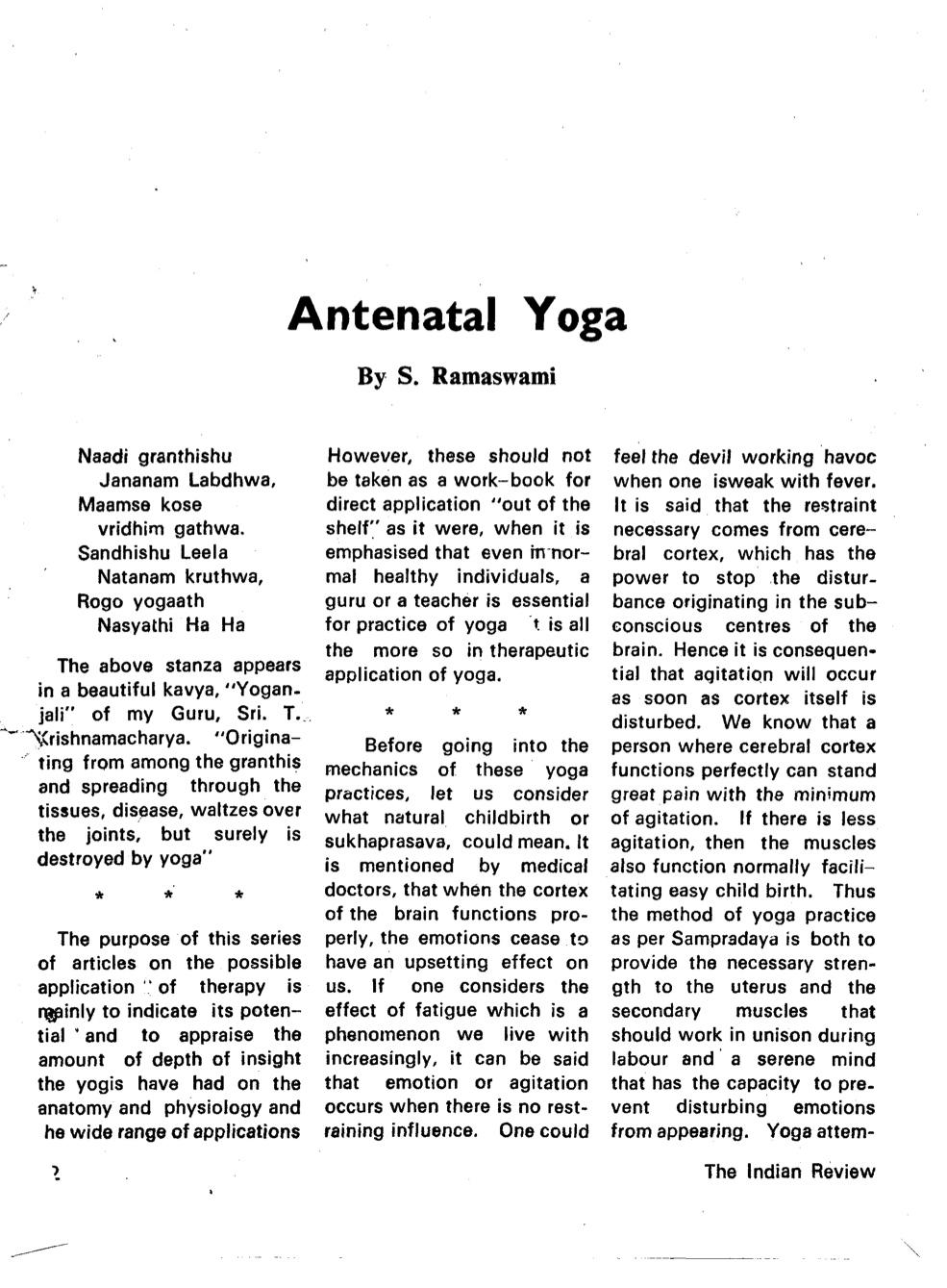 Ashtanga Vinyasa Krama Yoga and Beyond   at home : October 2014