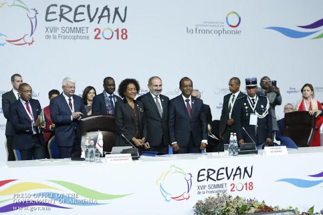 Armenia asume presidencia de la OIF