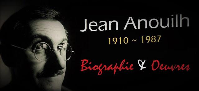 L'écrivain français Jean Anouilh