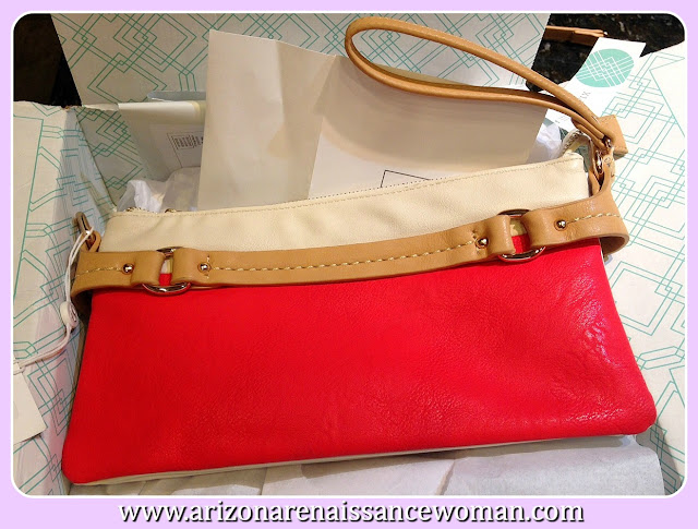 Shiraleah Riva Colorblock Clutch - Stitch Fix Review September 2015
