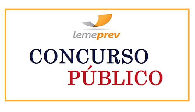 Lemeprev abre inscrições de concurso público para preenchimento de vagas