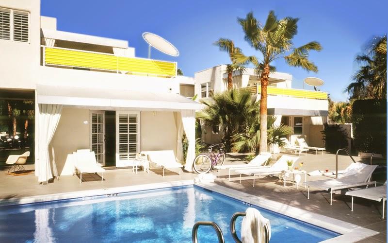 Movie Colony Hotel em Palm Springs na Califórnia