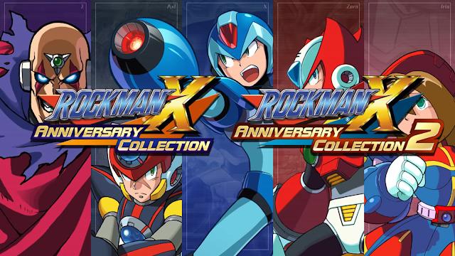 Mega Man X Legacy Collection game Mega Man X Legacy Collection 2 Capcom