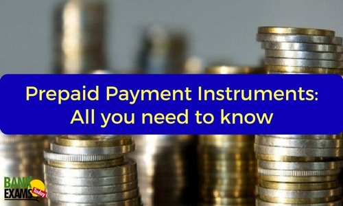 prepaid payment instruments