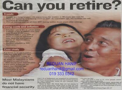 anda bersedia menempuh alam persaraan?