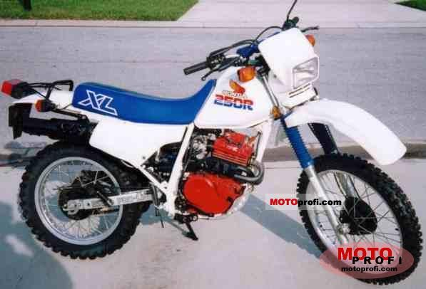 1982 Honda xl 250r Manual