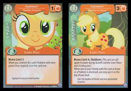 My Little Pony Applejack, Steadfast Farmpony Premiere CCG Card