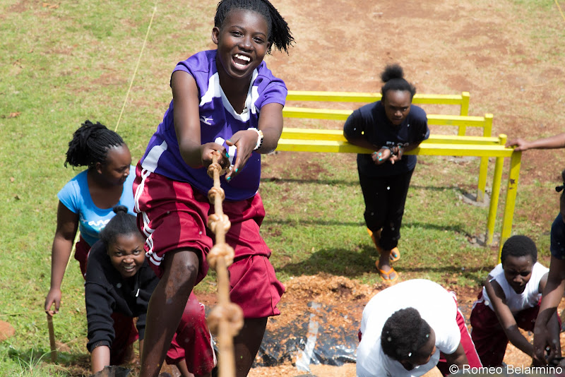 Ropes Course Uphill Volunteering in Kenya with Freedom Global