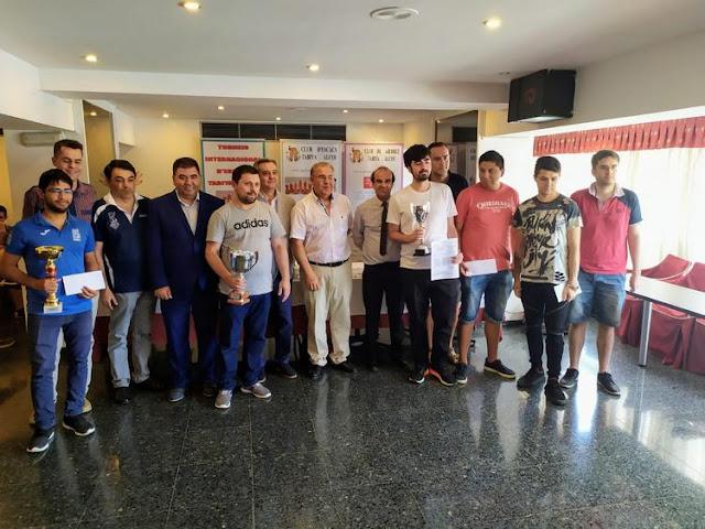 David Petrosian gana el Magistral y Albert Deruelle el IRT Sub-2200 Tabiya Alcoy, 25 aniversario