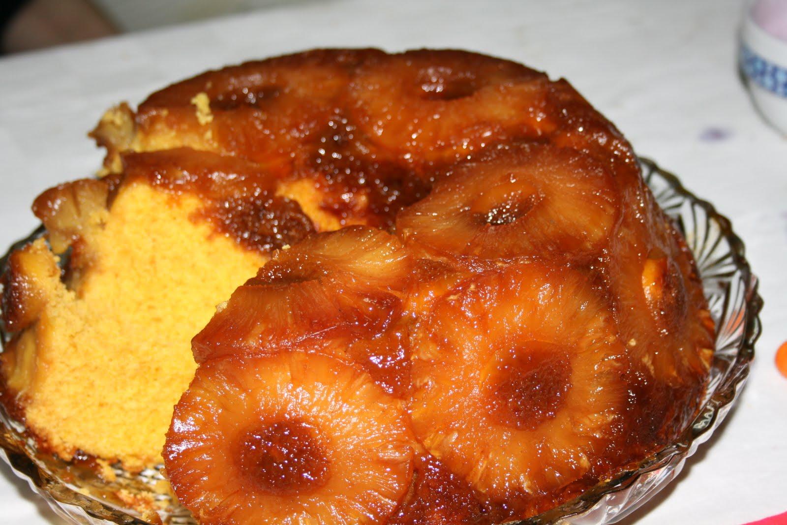 Bazar de Receitas: Bolo de Ananás