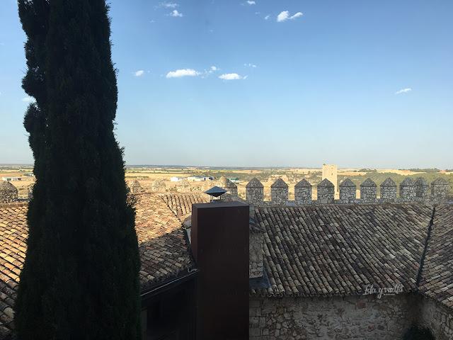 Castillo de Alarcón paseo por la muralla