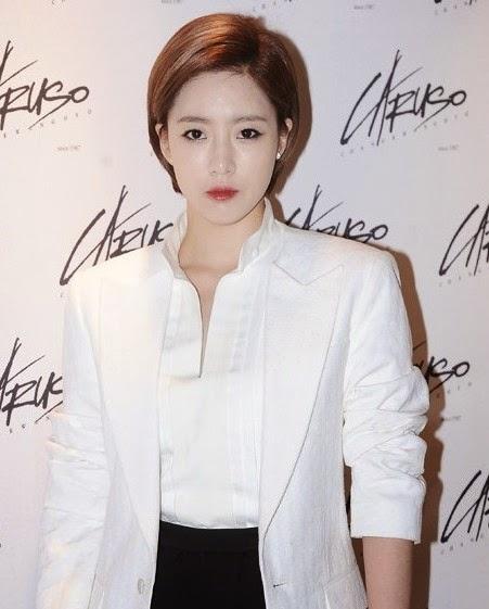 T-ara's Eunjung At Jang Gwangho's Fashion Show