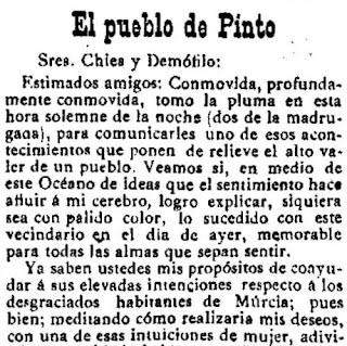 Fragmento del texto publicado en Las Dominicales