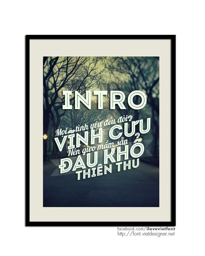 [Sans Serif] VNF Intro Inline Việt hóa