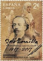 BICENTENARIO DE LA MUERTE DE JOSÉ ZORRILA
