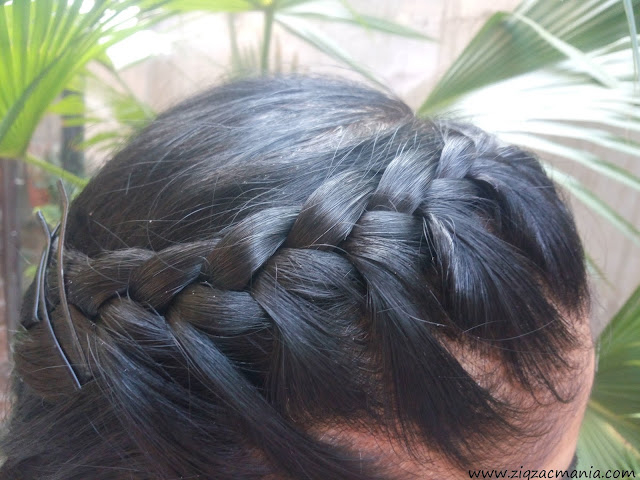 Half Up Side French Braid: French Braid, Frond Braid, DIY