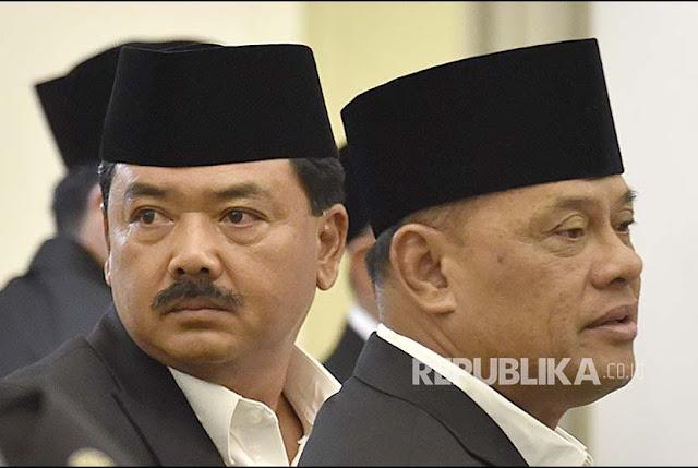 Panglima TNI Akhirnya Kembali ke Marsekal TNI AU