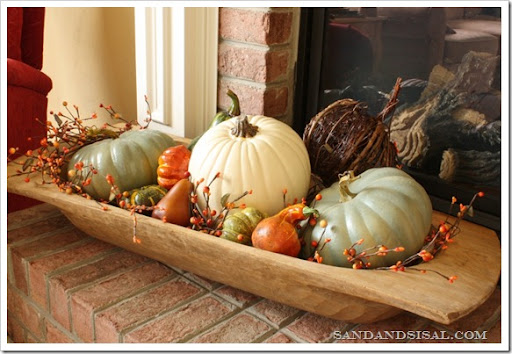 via Sand and Sisal & Collection of 20 Fall Decorating Ideas | anderson + grant