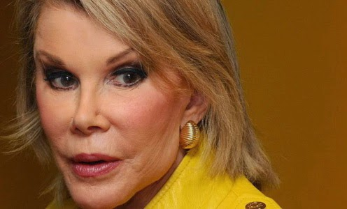 Joan Rivers became the center of a scandal