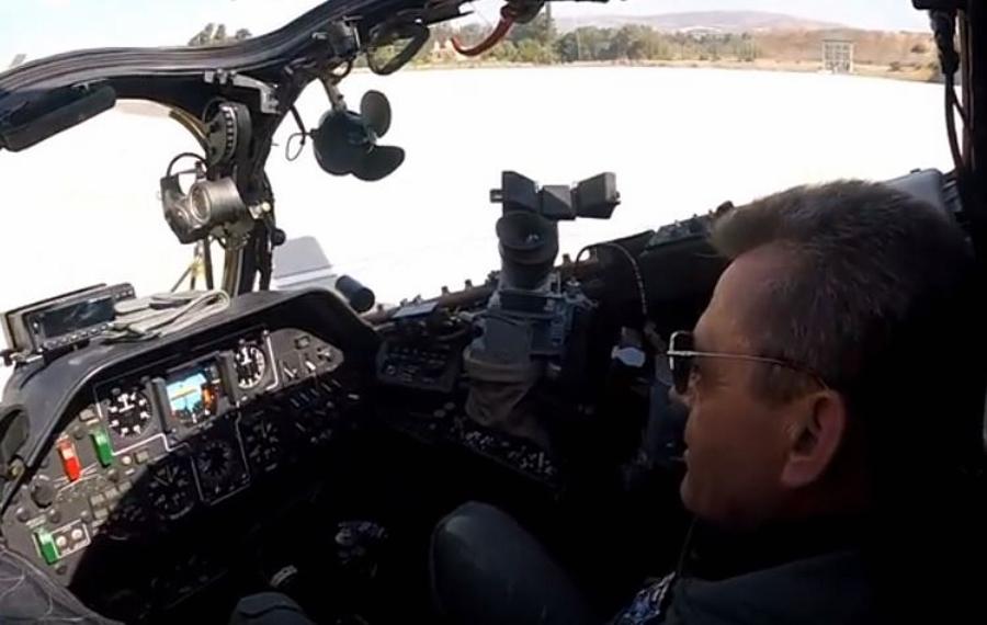 """Κύπρος: Ο στρατηγός Λεοντάρης """"εκπαιδεύτηκε"""" για πιλότος! ΒΙΝΤΕΟ"""