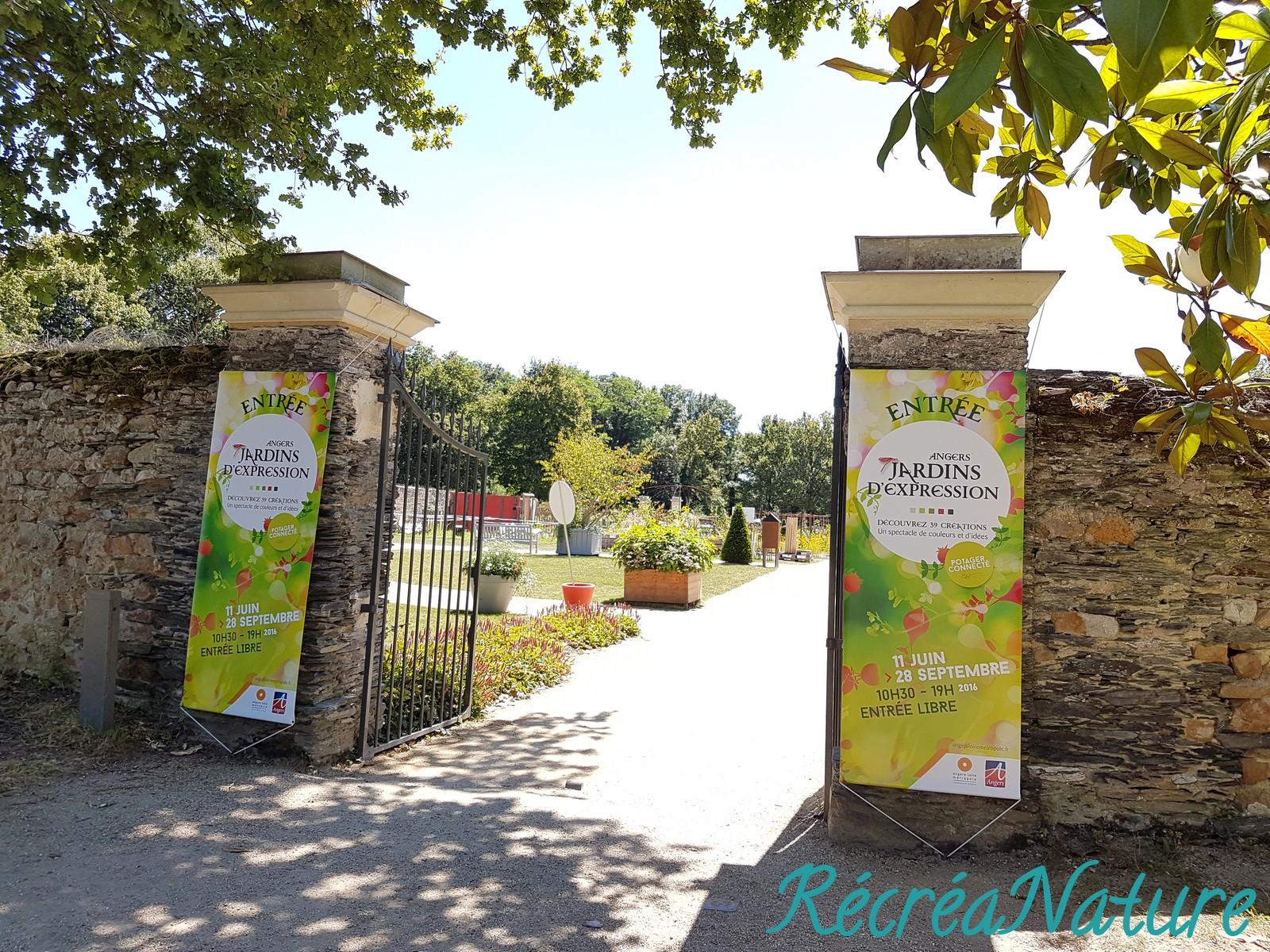 Lovely Le Jardin D Idees #8: Une Idée De Balade Du0027Eté En Anjou : Les Jardins Du0027Expression 2016, Au Parc  De Pignerolles