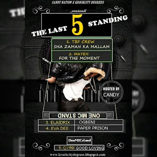 Trending Songs: The Last 5 Standing (Hosted By Candy)