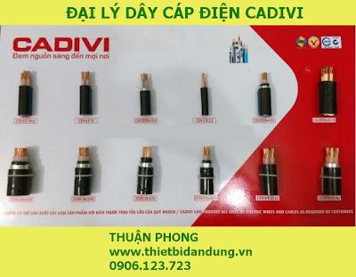 Đại lý cấp 1 dây cáp điện Cadivi 100% giá gốc