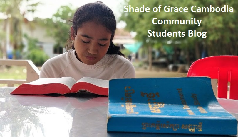 Shade of Grace Cambodia Students Blog