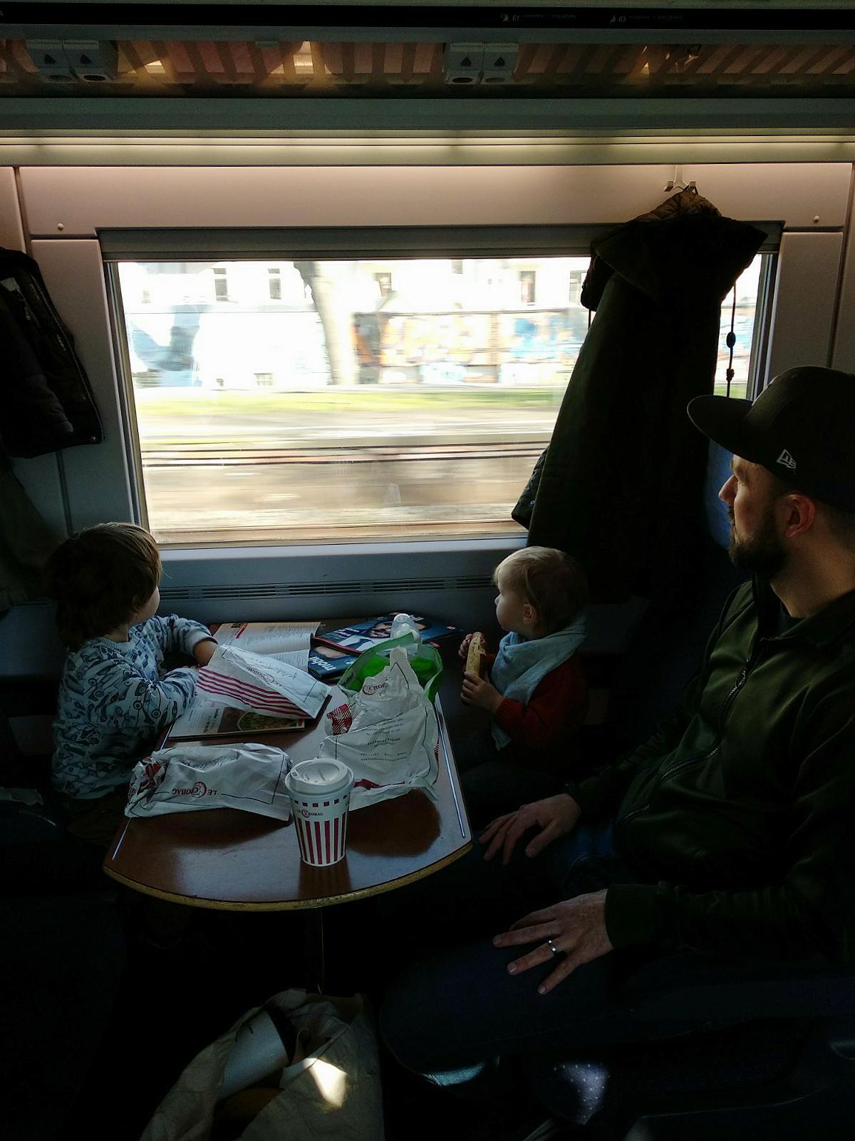Gemeinsame Anreise mit der Bahn