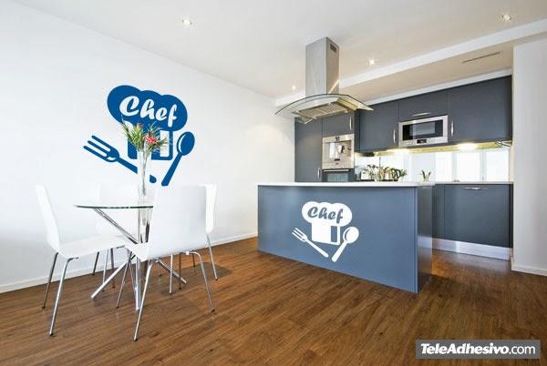 Bloc de recetas como renovar tu cocina sin hacer obras - Vinilos salon comedor ...