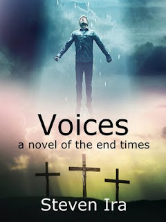 Voices - a Christian thriller book promotion Steven Ira
