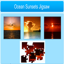 Ocean Sunset Jigsaw Puzzle Game