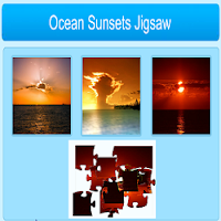 Ocean Sunset Jigsaw Puzzle