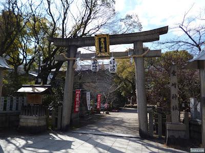 豊崎神社鳥居