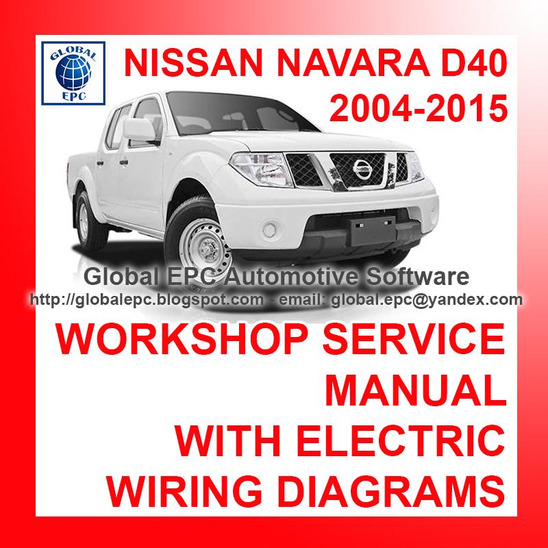 Auto Moto Repair Manuals  Nissan Navara Frontier D40 2004