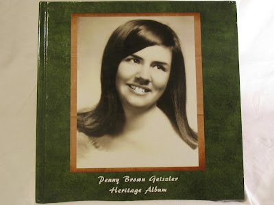 Heritage Scrapbook about Mom