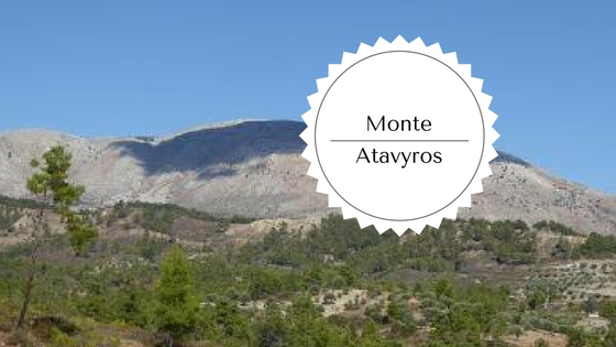 trekking sul monte atavyros a Rodi