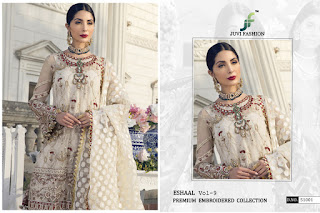 Juvi Fashion Eshaal vol 9 Wholesale pakistani Suits