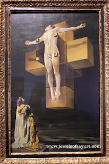 Christ of Saint John of the Cross surrealism, dali