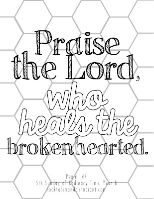 Click Here For The Half Page Size Psalm Coloring Pages February These Fit Perfectly Inside Scripture Book Cover From This Post Ill